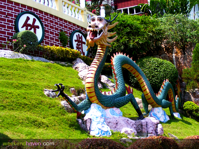 Giant Dragon at Cebu Taoist Temple