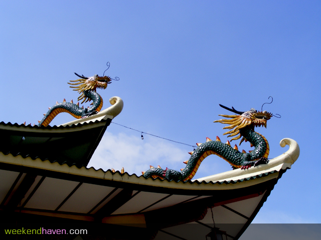 Dragons at Cebu Taoist Temple